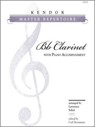 Kendor Master Repertoire - Clarinet - Clarinet