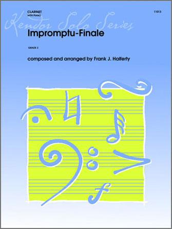 Impromptu-Finale - Clarinet
