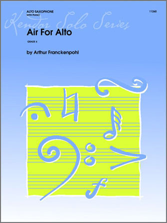 Air For Alto - Alto Sax