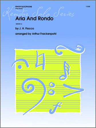 Aria And Rondo - Piano