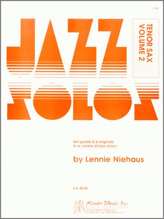Jazz Solos For Tenor Sax, Volume 2