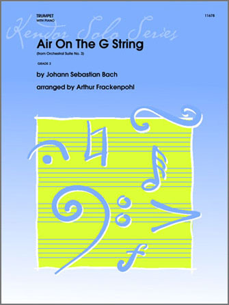 Air On The G String (from Orchestral Suite No. 3) - Piano