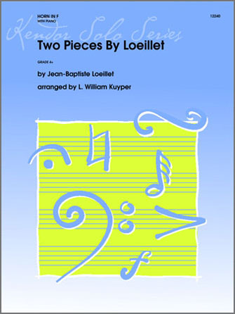 Two Pieces By Loeillet - Horn