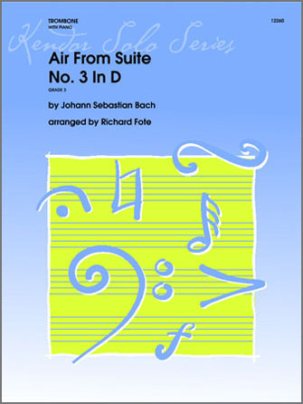 Air From Suite #3 In D - Piano
