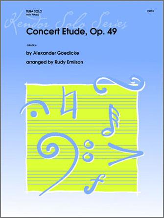 Concert Etude, Op. 49 - Piano