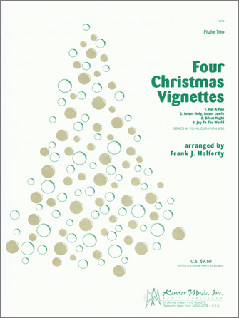 Four Christmas Vignettes - Full Score