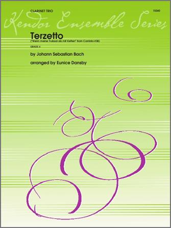 Terzetto (Wenn meine Trubsal als mit Ketten from Cantata #38) - Full Score