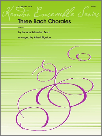 Three Bach Chorales - Clarinet 3