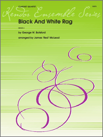 Black And White Rag - Clarinet 1