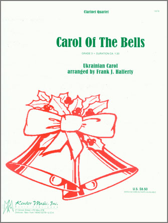 Carol of the Bells - Clarinet 2
