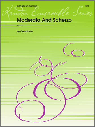 Moderato And Scherzo - Alto Sax 2