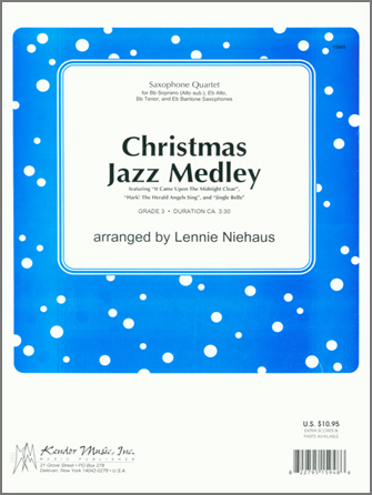Christmas Jazz Medley - Full Score