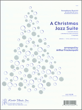 Christmas Jazz Suite, A - Alto Sax 2
