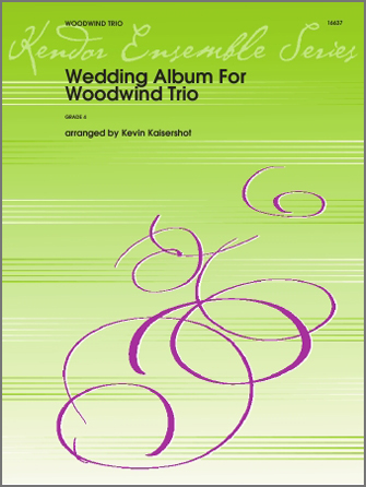 Wedding Album For Woodwind Trio - Clarinet