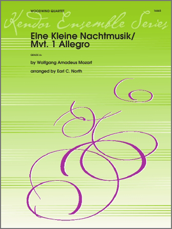 Eine Kleine Nachtmusik/Mvt. 1 Allegro - Clarinet 1