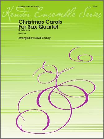 Christmas Carols For Sax Quartet - Eb Baritone Sax