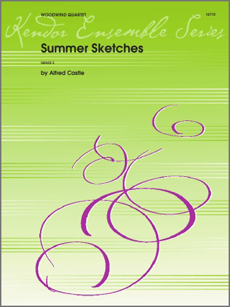Summer Sketches - 1st Bb Clarinet