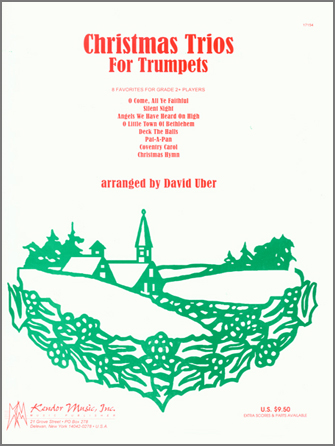 Christmas Trios For Trumpets - 1st Bb Trumpet