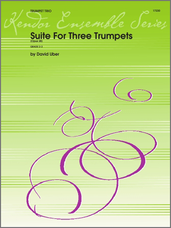 Suite For Three Trumpets (Opus 28) - 3rd Bb Trumpet