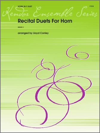 Recital Duets For Horn - 1st & 2nd Horn in F
