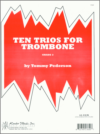 Ten Trios For Trombone - Full Score