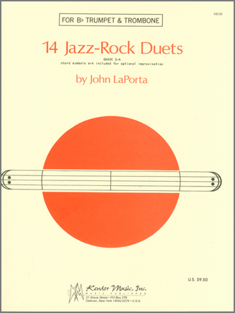 14 Jazz-Rock Duets (trumpet & trombone)