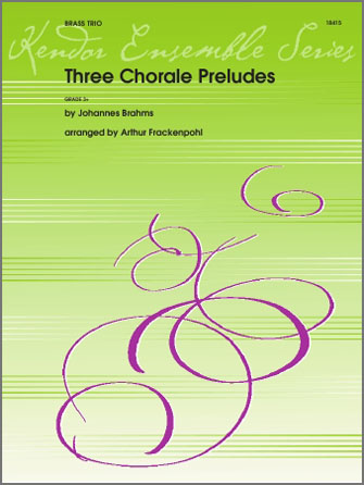 Three Chorale Preludes - Bb Trumpet