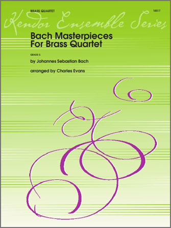 Bach Masterpieces For Brass Quartet - Full Score