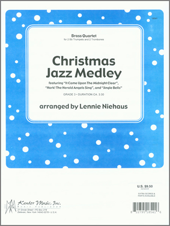 Christmas Jazz Medley - 2nd Trombone