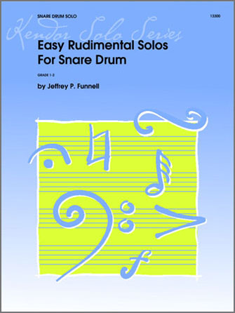 Easy Rudimental Solos For Snare Drum