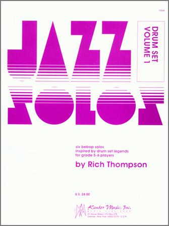 Jazz Solos For Drum Set, Volume 1
