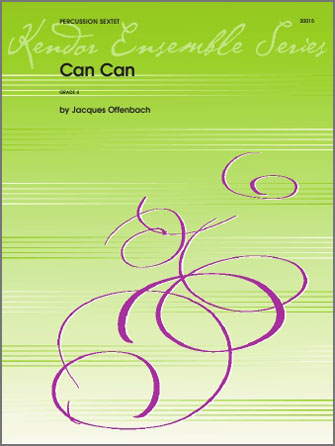 Can Can - Percussion 2