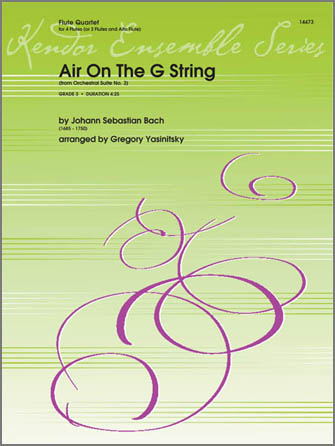 Air On The G String (from Orchestral Suite No. 3) - Alto Flute