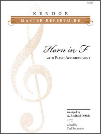 Kendor Master Repertoire - Horn in F - Horn in F
