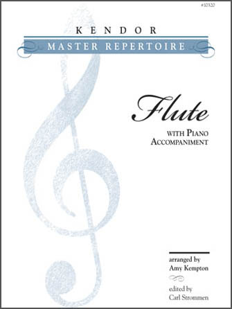 Kendor Master Repertoire - Flute - Full Score