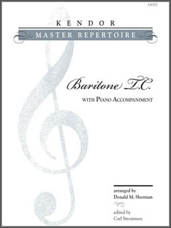 Kendor Master Repertoire - Baritone T.C. - Solo Baritone T.C.