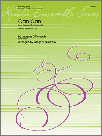 Can Can (from Orpheus In The Underworld) - Full Score