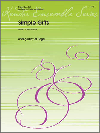 Simple Gifts - 2nd Flute