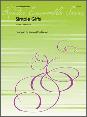 Simple Gifts - 1st Trombone