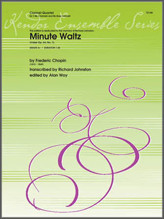 Minute Waltz (Valse Op. 64, No. 1) - Bb Bass Clarinet
