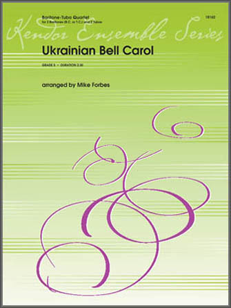 Ukrainian Bell Carol - 1st Baritone T.C.