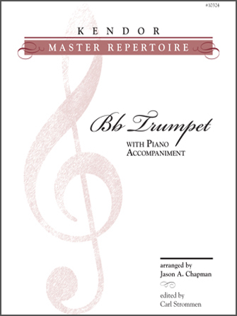 Kendor Master Repertoire - Trumpet - Piano