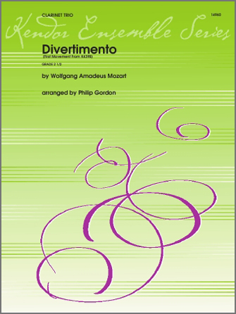 Divertimento (first movement from K439B) - Conductor Score (Full Score)