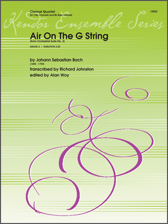 Air On The G String (from Orchestral Suite No. 3) - Conductor Score (Full Score)