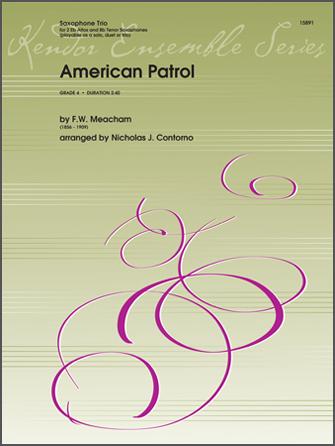 American Patrol - 1st Eb Alto Saxophone