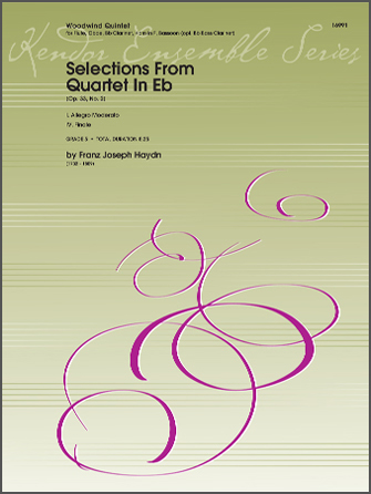 Selections From Quartet In Eb (Op. 33, No. 2) - Bb Bass Clarinet