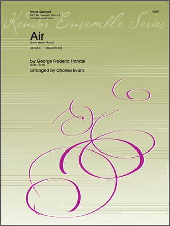 Air (from Water Music) - 2nd Trumpet in Bb