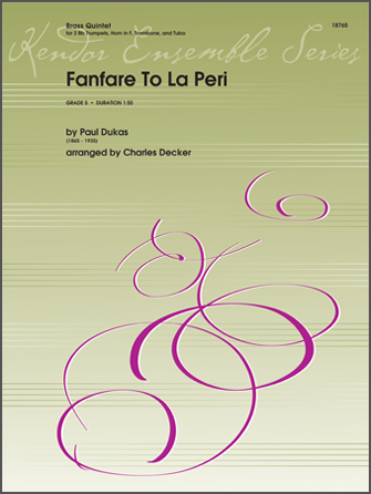 Fanfare To La Peri - 2nd Bb Trumpet