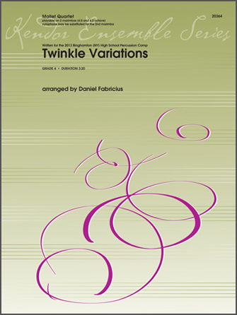 Twinkle Variations - Conductor Score (Full Score)