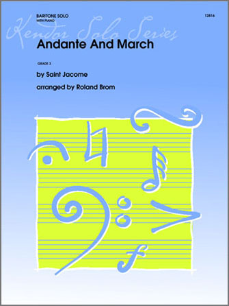 Andante And March - Piano